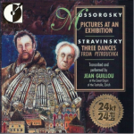 CD de Mussorgsky Pictures At An Exhibition