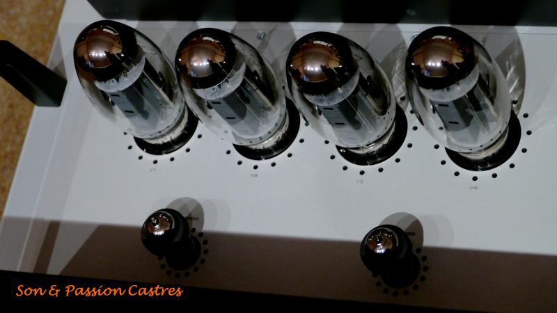 Audio Research GSi 75 vue tubes